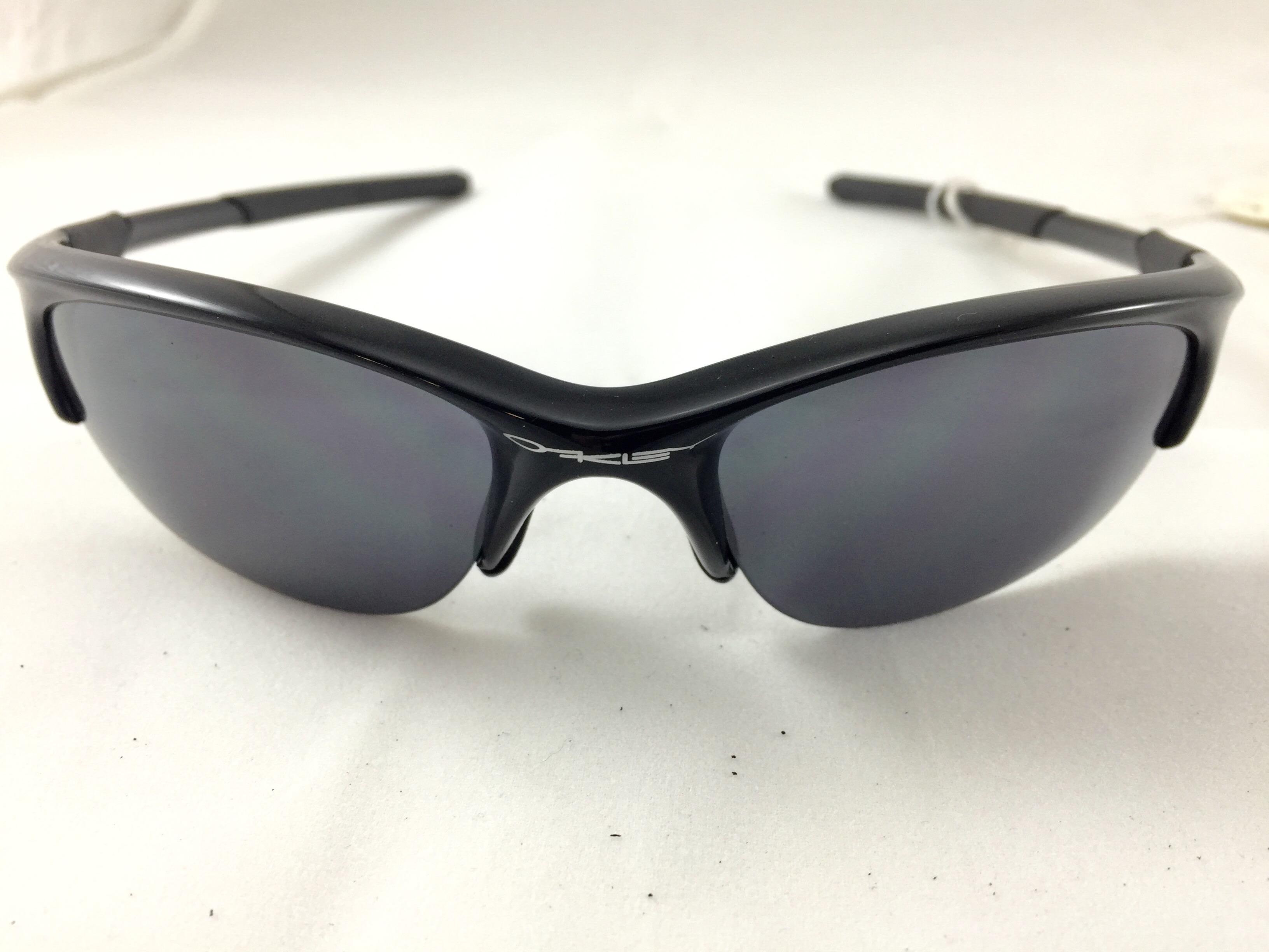 6361381e9e Oakley Half Jacket Jet Black With Black Iridium Lens 03 614 ...